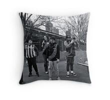 Before the Game Throw Pillow