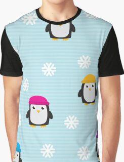 Cute Penguins  Graphic T-Shirt