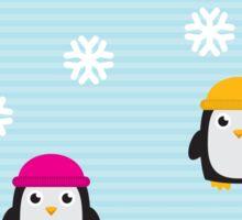 Cute Penguins  Sticker