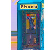 Pay Phone Photographic Print