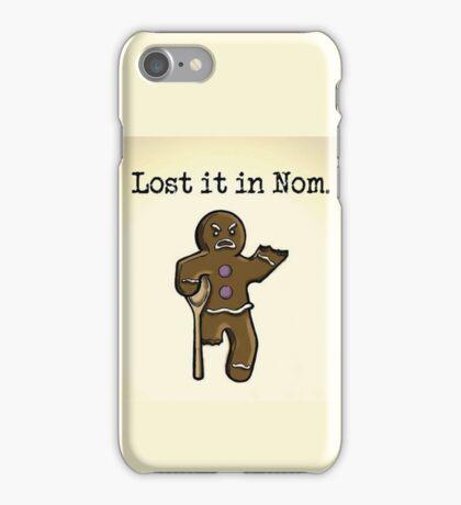 Lost it in Nom iPhone Case/Skin
