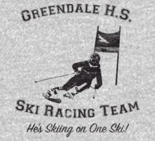 Greendale HS Ski Racing Team Kids Tee