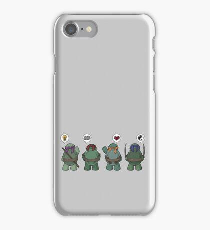 Tiny mutant ninja turtle iPhone Case/Skin
