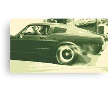 Steve McQueen from the film Bullitt Canvas Print