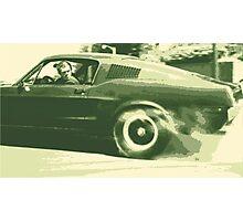 Steve McQueen from the film Bullitt Photographic Print