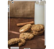 Homemade cookies and milk iPad Case/Skin