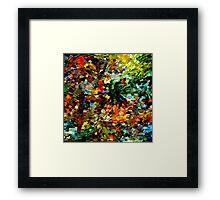 modern composition 27 by rafi talby Framed Print