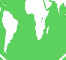 Love Global T-Shirt Emblem Green Sticker