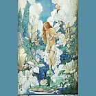 Art Nouveau Water Fairy IPhone iPod Case by wlartdesigns