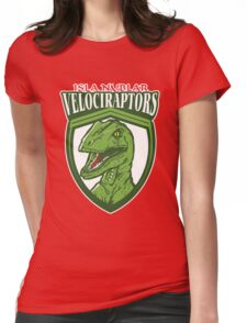 Velociraptors Womens Fitted T-Shirt