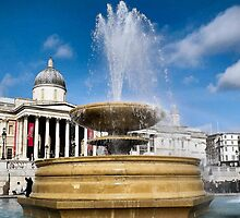 Trafalgar square  by NathanGordon