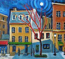 Connecticut Avenue by Robert Holewinski