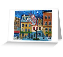 Connecticut Avenue Greeting Card