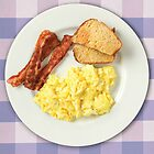 Ron Swanson's Breakfast by jeffbrowne