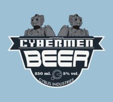 Cybermen Beer by kingUgo