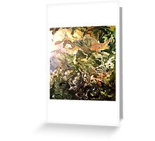 modern composition 28 by rafi talby Greeting Card