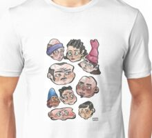 Dupont Station Subway Faces Unisex T-Shirt