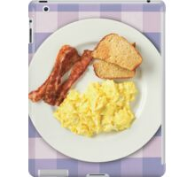 Ron Swanson's Breakfast iPad Case/Skin