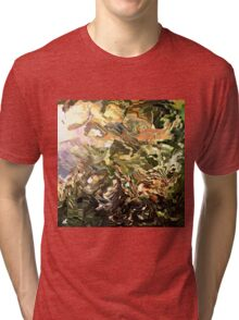 modern composition 28 by rafi talby Tri-blend T-Shirt