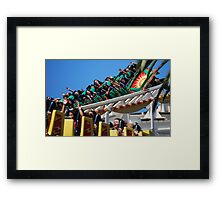 California Screamin'! Framed Print