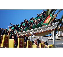 California Screamin'! Photographic Print