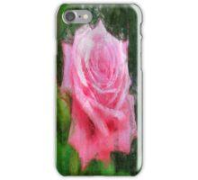 Pink Roses in Anzures 4 Sketchy iPhone Case/Skin