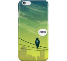 Bird on Wire iPhone Case/Skin