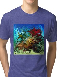 modern composition 30 by rafi talby Tri-blend T-Shirt