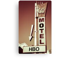 Ritz Motel Canvas Print