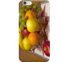 Bowl Of Fresh Fruit iPhone Case/Skin