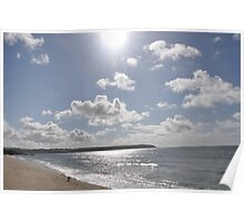 SURISE OVER CARLYON BAY, St Austell... Poster