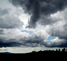 sky with clouds by manuela1969