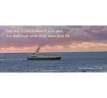 Sailing The Seas Photographic Print