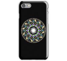 Galactic Federation Of Light iPhone Case Black iPhone Case/Skin
