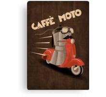 Caffè Moto Canvas Print
