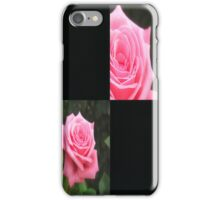 Pink Roses in Anzures 4 Blank Q2F0 iPhone Case/Skin