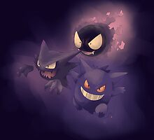 GHOSTS!!! by KanaHyde