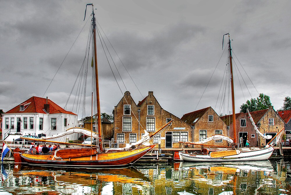 English Quay, Zierikzee by Adri  Padmos