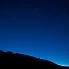 Moon over Red Rock State Park. by philw