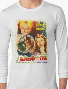 Italian poster of The Wizard of Oz Long Sleeve T-Shirt