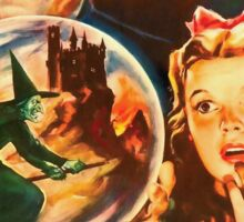 Italian poster of The Wizard of Oz Sticker