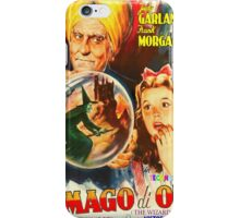 Italian poster of The Wizard of Oz iPhone Case/Skin