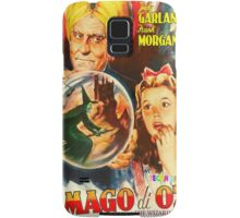 Italian poster of The Wizard of Oz Samsung Galaxy Case/Skin