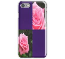 Pink Roses in Anzures 4 Blank Q9F0 iPhone Case/Skin