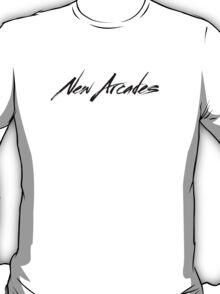 New Arcades - Logo (black text) T-Shirt