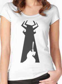 Samurai Jack Women's Fitted Scoop T-Shirt