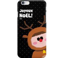 Joyeux Noel - Rudolph iPhone Case/Skin