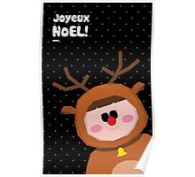 Joyeux Noel - Rudolph Poster