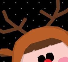 Joyeux Noel - Rudolph Sticker