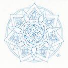 Spirit & Fire Mandala by Daniel ML